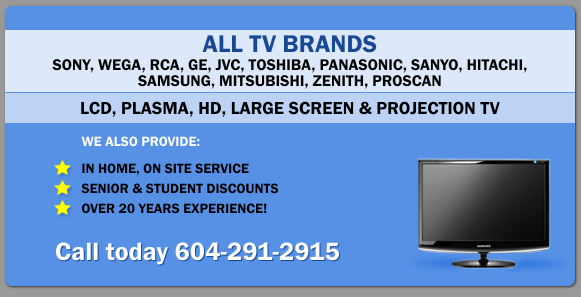 Free In Home Estimate on Your TV
